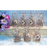 Vintage Noritake Desert Flowers Stoneware China Water Ice Tea Glass or T... - $99.99