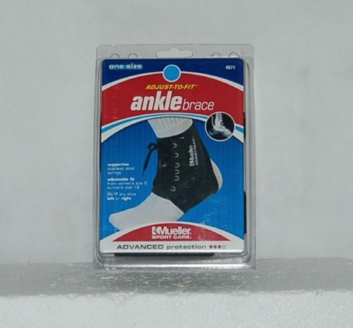Mueller Sport Care 4571 Adjust To Fit Ankle Brace One Size Advanced Protection
