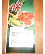 Vintage 7-UP Recipe Print Magazine Advertisement 1965 - $5.99