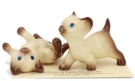 Hagen Renaker Specialty Cat Siamese Kittens - 2 Piece Ceramic Figurine Set image 6