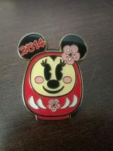 Disney 2014 Tokyo Disney Resort Daruma Doll Minnie Pin - $38.21