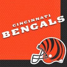 Cincinnati Bengals NFL Pro Football Sports Banquet Party Paper Luncheon Napkins - $7.17