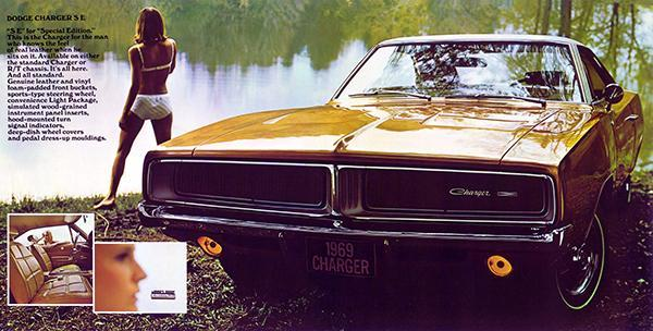 Primary image for 1969 Dodge Charger - Promotional Advertising Poster