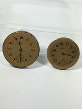 Vintage Elgin Watch Movements With Dials 25mm & 28mm - $24.26