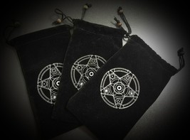 Magical Charging Bag Talisman Djinn Power Up - Keep Safe Black Velvet Magick - $50.00