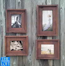 Gallery Wall(All Finishes) -Includes 3- 8.5x11 Frames & 1- 11x17 Frame - The Lof - $262.00