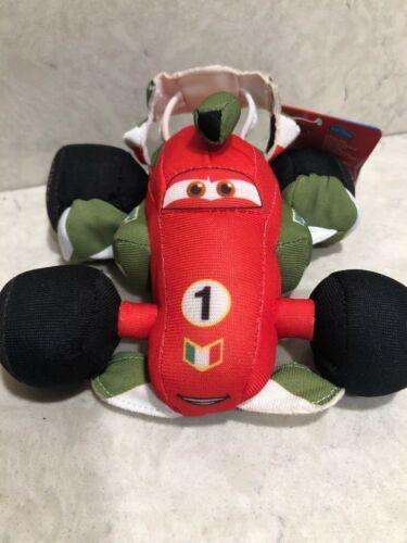 "Disney Pixar Cars 2 Franchesco Ferrari Plush 5"" Toy Crash Ems A2"