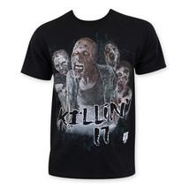 Walking Dead Zombie Killin It Tee Shirt Black - $24.98