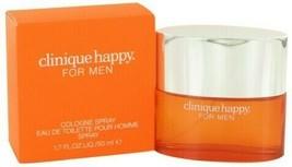 Happy Cologne by Clinique, 1.7 oz(50 ml) Cologne Spray(VAPORISATEUR) Men... - $61.87
