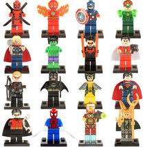 16pcs Batman Green Lantern Thor Loki Deadpool Captain America Spiderman ... - $24.99