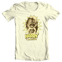 Harry and Hendersons T-shirt retro 80s TV show Sasquatch Big Foot tee NBC296 image 2