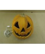 Decorative Outfit Pumpkin Decorative 9in D x 7in H Orange Halloween Ilum... - $18.68