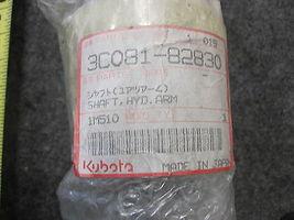 KUBOTA 3C081-82830 HYDRAULIC ARM SHAFT NEW image 3