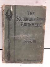 Southworth-Stone Arithmetic Book 3 by Gordon Southworth/John C. Stone - $2.96