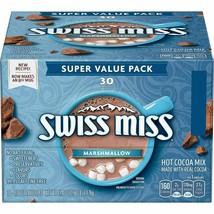 Swiss Miss Milk Chocolate Hot Cocoa Mix 30 Envelopes - $15.74