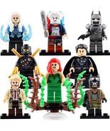 8pcs/set DC Killer Frost Batman Poison Ivy Talon Harley Quinn Minifigures - $15.99