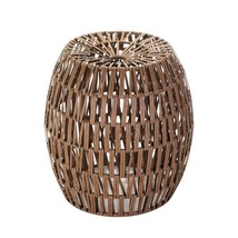 Garden Stool Decorative, Rustic Garden Stool Decor Accent - Woven Faux R... - $148.69