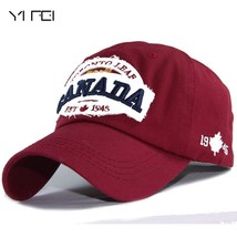YIFEI  Men Snapback Caps Casquette Hat For Women Hip Hop Canada Letters ... - $11.41