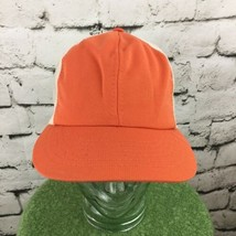 Vintage Trucker Hat Orange With Mesh SnapBack - $14.06