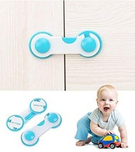 10 Pcs Multi-Function Child Baby Safety Locks Cupboard Cabinet Door Draw... - $9.99