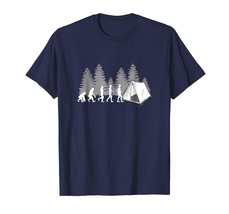 Dad Shirts -  Camping Life Evolution Funny Family Vacation Scout Tee Shi... - $19.95+