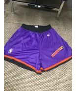 Phoenix Suns Purple Champion Basketball Shorts Large Good Condition - $98.99