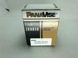 PanaVise - InDash Mount for Nissan Altima 2007-2012 Vehicles - Matte Black - $8.59