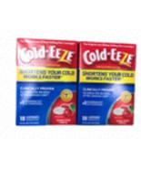 2 X Cold-Eeze Zinc Lozenges Homeopathic Natural Flavor Cherry 18 Count Box  - $36.12