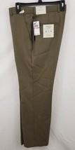 Perry Ellis Men's Classic Fit Dress Pants Rock Taupe Sharkskin 32x29 - $24.74