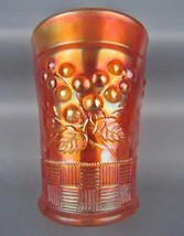 Carnival Glass - Northwood RASPBERRY Marigold Tumbler 4063 - $22.50