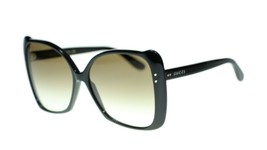 NEW Gucci GG0471S 001 Black Frame Grey Gradient Sunglasses Authentic  - $251.23