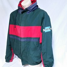 VTG Nautica Sailing Jacket 90s Windbreaker Navigation Colorblock Coat XX... - $79.99