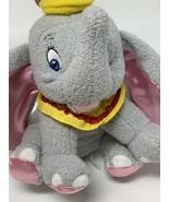 """Walt Disney Plush Dumbo Elephant 6"""" Stuffed Animal Sewn Eyes Soft Toy - $12.00"""
