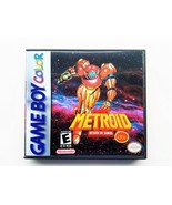 Metroid II 2 DX Return of Samus w/ Case - Full COLOR Nintendo GBC Gamebo... - $23.24