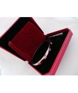 US SELLER! Screw Driver Bracelet Set. WHITE Gold Plate Med Size 19cm 7.5... - $49.95