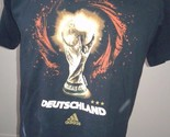 Adidas FIFA World Cup Germany 2006 Tshirt M Medium DEUTSCHLAND T shirt soccer