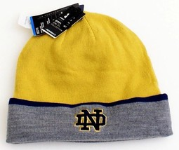 Under Armour Coldgear Infrared Notre Dame Gold Knit Cuff Beanie Men's On... - $33.40