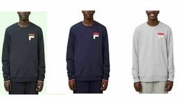 New Fila Men's French Terry Crew Neck Sweatshirt - $19.99