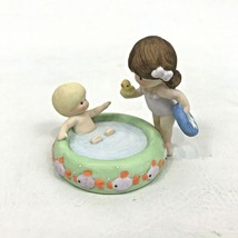 Enesco Country Cousins Sarah and Skip in small Pool Figure - $29.69