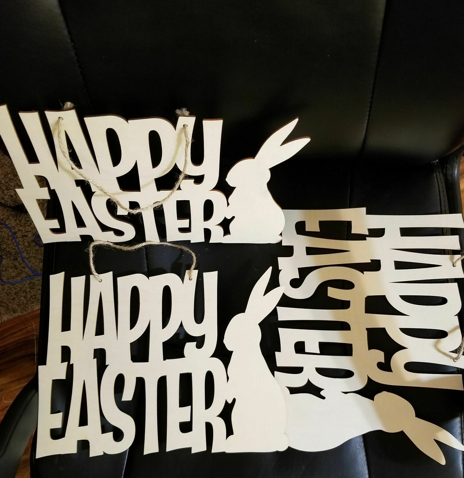 Primary image for THREE DiY Happy Easter decor