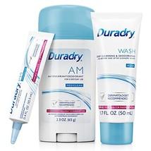 Duradry 3-Step Protection System - Prescription Strength Antiperspirant Deodoran