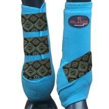 Large Hilason Horse Medicine Sports Boots Front Leg U-TC-L - $64.30