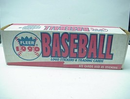 1990 Fleer Baseball Logo Stickers & Trading Cards Mayor League - $15.83
