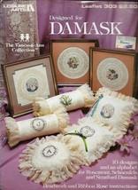 Designed for Damask Leisure Arts 303 Vtg 1984 10 Designs Vanessa-Ann Collection - $3.46