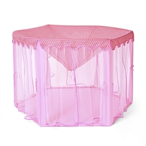 Large Princess Castle Tulle Children House Game Selling Play Tent 140 x ... - $47.95
