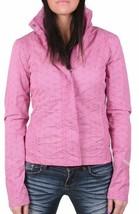 Bench Urbanwear Womens BBQ II Barbecue Pink Jacket w Hood BLKA1830 NWT