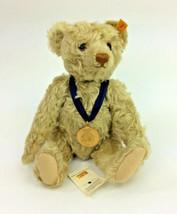 """Steiff Teddy Bear Mohair Plush 667305 Stuffed Animal 12"""" Jointed Brown 2... - $60.94"""