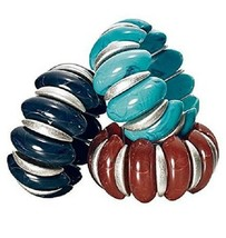 Avon Big and Bold stretch bracelet in Navy - $12.99