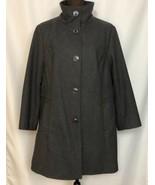 KENNETH COLE Women's Wool Blend Coat, 3/4 Length, Size 1X, Gray - $54.44