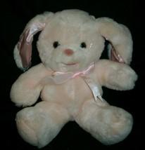 """12 """" Vintage 1990 Commonwealth Pink Plüschtier Plüsch Spielzeug Kaninchen Weich - $25.82"""